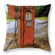 Lonely Pump Throw Pillow