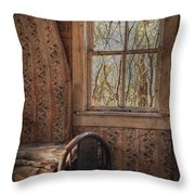 Lonely Room  Throw Pillow