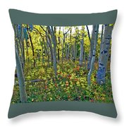 Lonely September Throw Pillow