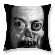Lonely Zombie Throw Pillow