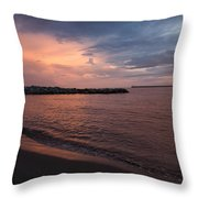 Lonesome Blues.. Throw Pillow