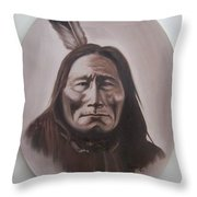 Long Bear Throw Pillow