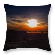 Long Day In The Heartland Throw Pillow