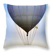 Long Distance Flyer Throw Pillow