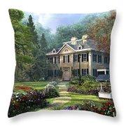 Long Fellow House Throw Pillow
