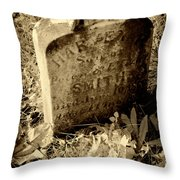 Long Gone Child Throw Pillow