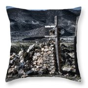 Long Gone Past Throw Pillow