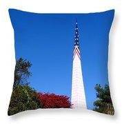 Long Island's Vietnam Memorial Throw Pillow