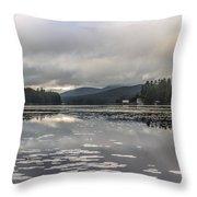 Long Lake Long View Throw Pillow