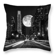 Long Nights Moon Throw Pillow