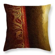 Long Out Of Print Throw Pillow