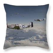 Long Road Home Throw Pillow by Pat Speirs