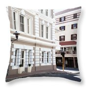 Long Street Throw Pillow