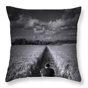 Long Way To Go Throw Pillow