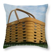 Longaberger Basket Company Nf Throw Pillow