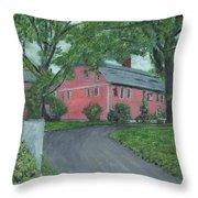 Longfellow's Wayside Inn Throw Pillow