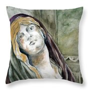 Longing Throw Pillow