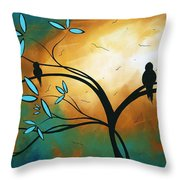 Longing By Madart Throw Pillow