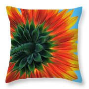 Longing For Summer Throw Pillow
