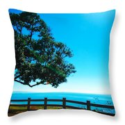 Longing For The Sea Throw Pillow