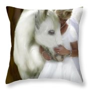 The Longing Throw Pillow