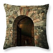 Longwood Bell Tower Throw Pillow