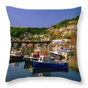 Looe River Throw Pillow