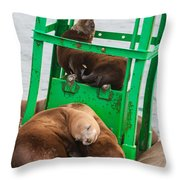 Look At The One In The Middle Throw Pillow