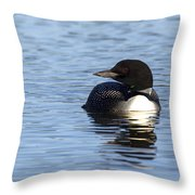 Look Away Throw Pillow