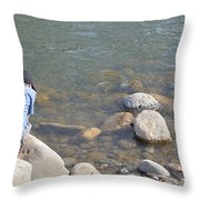 Look Close  Throw Pillow