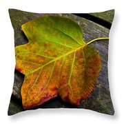 Look Down 3 Throw Pillow