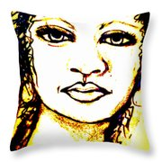Look In The Mirror - Make A Change Throw Pillow