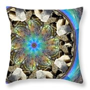 Look Into Her Soul Throw Pillow