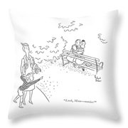 Look, Mom - Movies! Throw Pillow