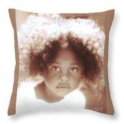 Look Of Wonder Throw Pillow