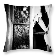 Look Out The Window There Beauty Is Throw Pillow