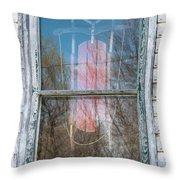 Look Through My Window II Throw Pillow