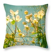 Look Up And You Will See Throw Pillow