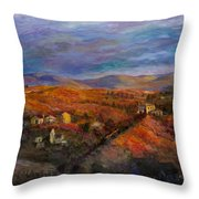 Look West Throw Pillow