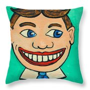Lookin Right Tillie Throw Pillow