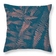 Looking At Ferns Another Way Throw Pillow