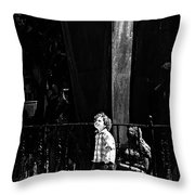 Looking At The World  Throw Pillow