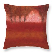 Looking At The World Through Rose Colored Lenses Throw Pillow