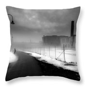 Looking Back At Time Throw Pillow