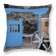 Looking Back Through History Throw Pillow