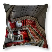 Looking Down On Beauty Throw Pillow