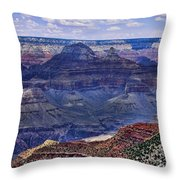 Looking Down On Blue Mountains Throw Pillow