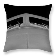 Looking Down On You Throw Pillow