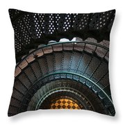 Looking Down Throw Pillow