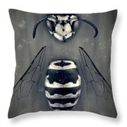 Looking Down Upon Myself Throw Pillow by Adam Romanowicz